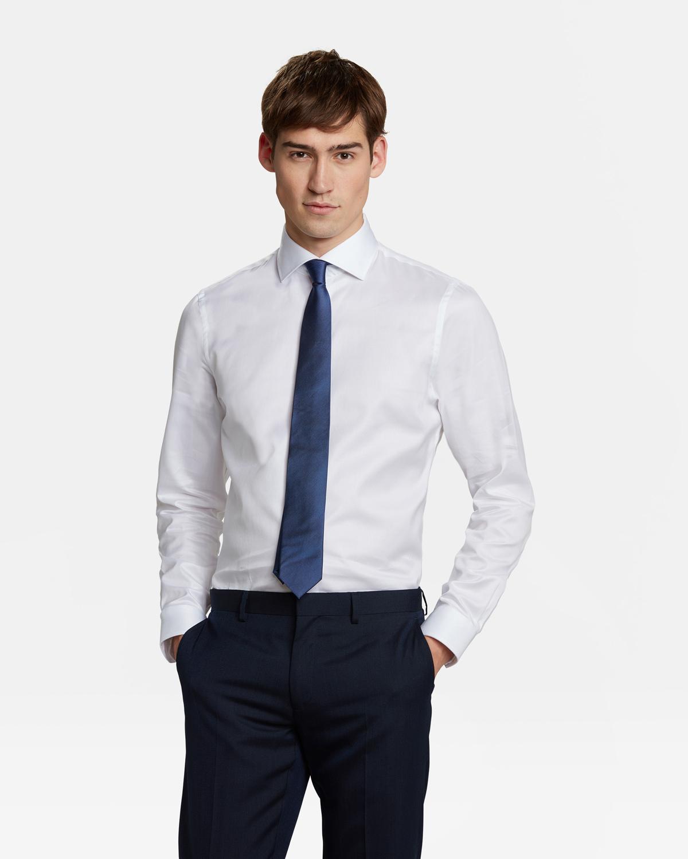 Katoenen Overhemd Heren.Heren Regular Fit Luxueus Katoenen Overhemd 79032834 We Fashion
