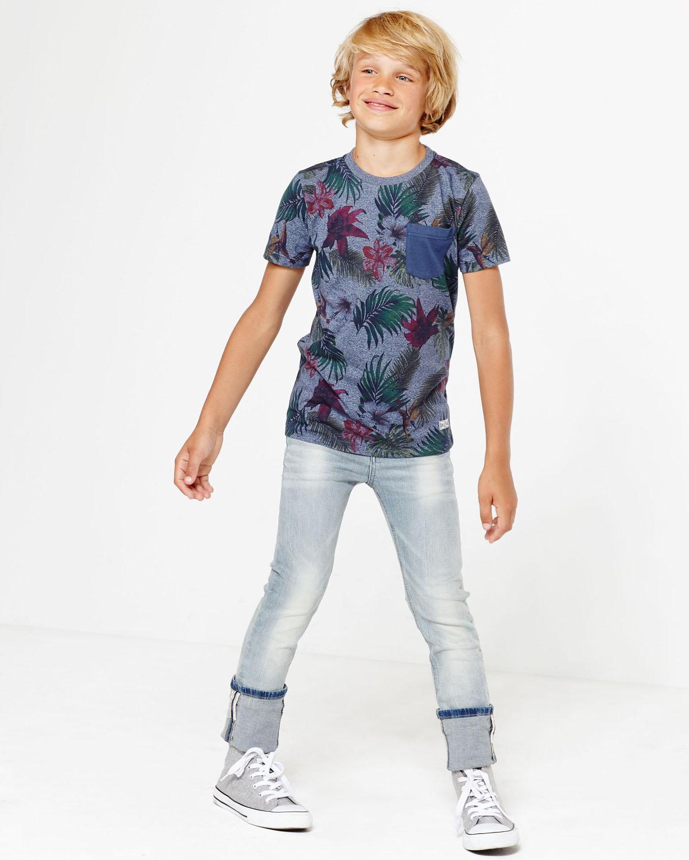 Jeans Grey Fashion Skinny We Light Garçon78016118 Yy7f6gb