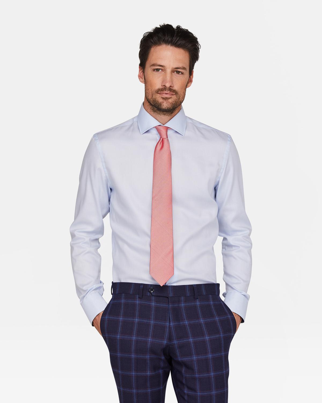 Skinny Fit Overhemd.Heren Slim Fit Overhemd 94391176 We Fashion