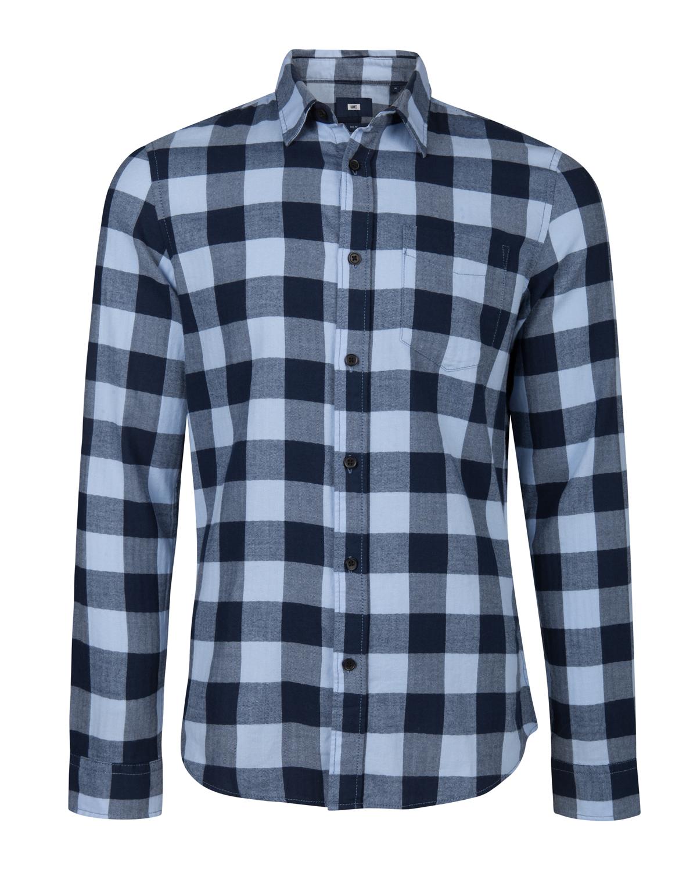 Groen Geruit Overhemd.Heren Slim Fit Geruit Overhemd 93439848 We Fashion