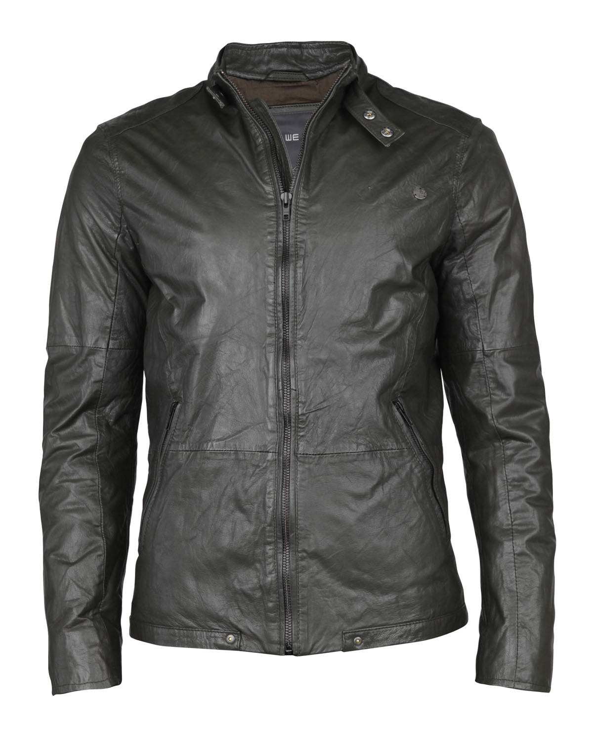 Blouson Homme 77619457 Fashion De Cuir We EwwqCpSF0