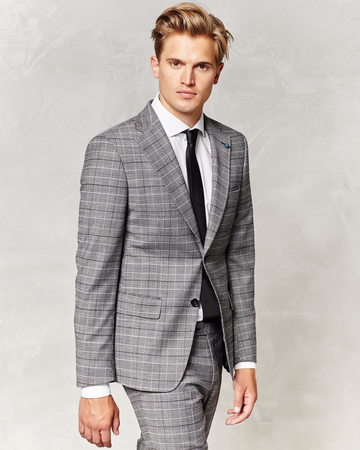 Blazer Glen Weamp; Fashion Van Homme78974838 Grey Gils Check WdQCxeroB