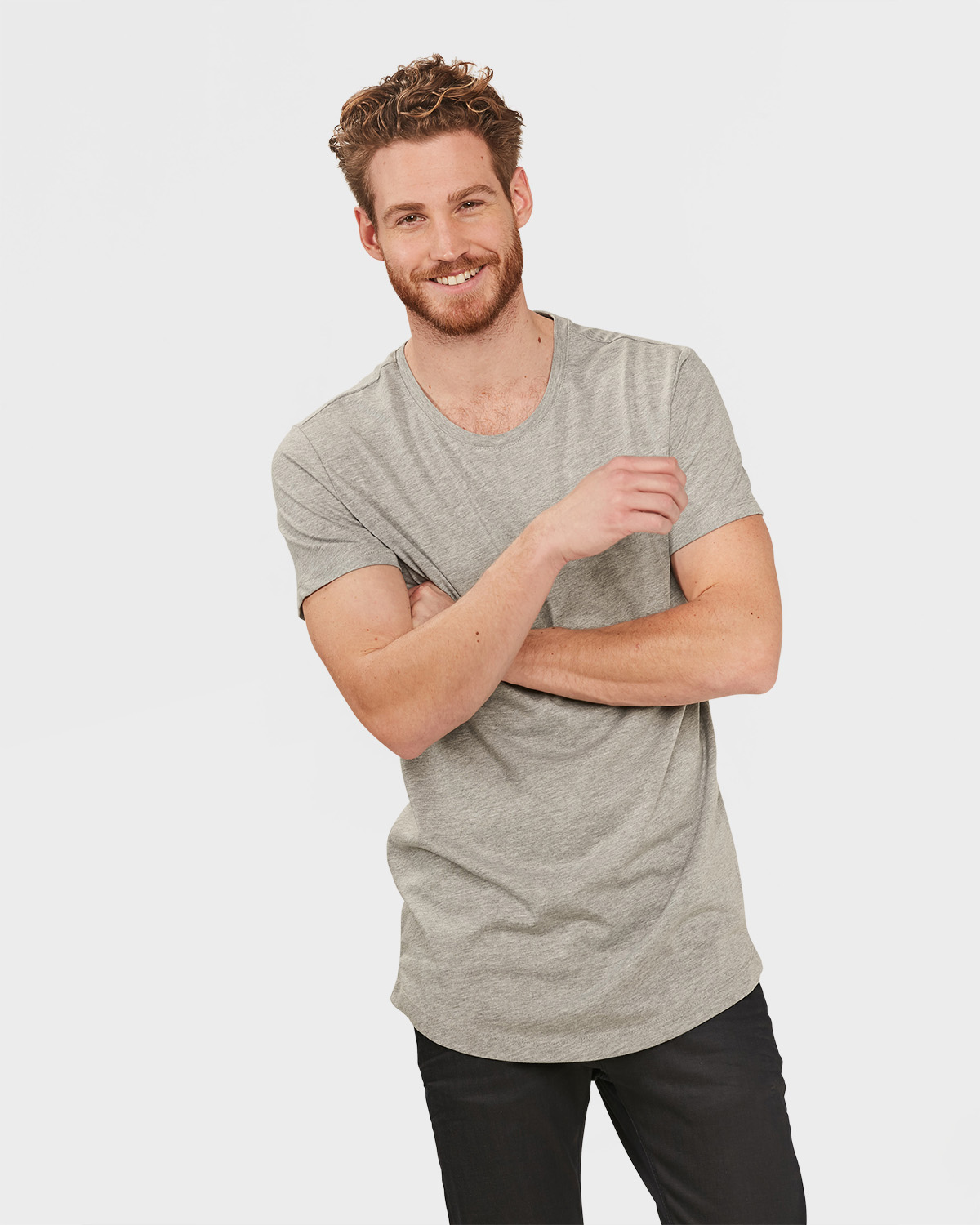 T-SHIRT EXTRA LONG FIT HOMME | 79798655 -